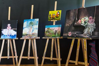 2017-06-11 - Radziejowice - Wernisaż malarski w Powozowni