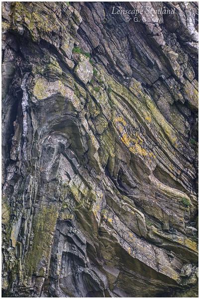 Contorted rocks, Otter Geo (Unst)