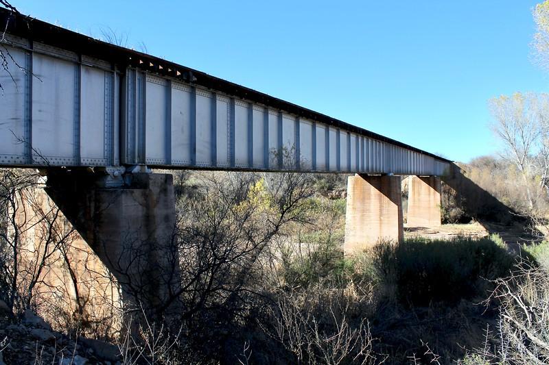 1926 Railroad Bridge over the San Pedro River (2019)