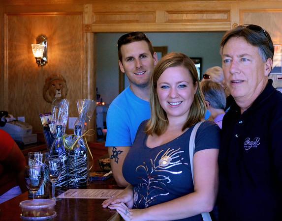 Michigan Wine Erin & Josh Aug 2013