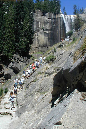 Compare Mist Trail July 2001 to July 2011!