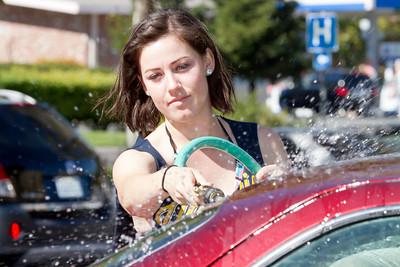 10.13.13 Dance Team Car Wash