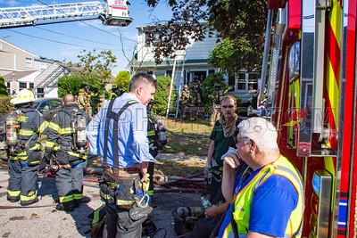 North Merrick F.D. House Fire 1737 Warren Place 9-26-19