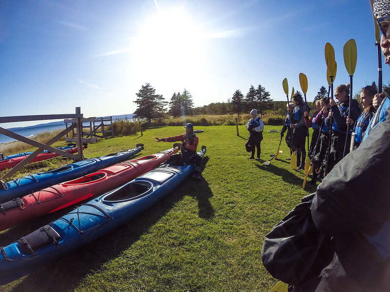 Gaspésie 2019 - Kayak Cap Aventure