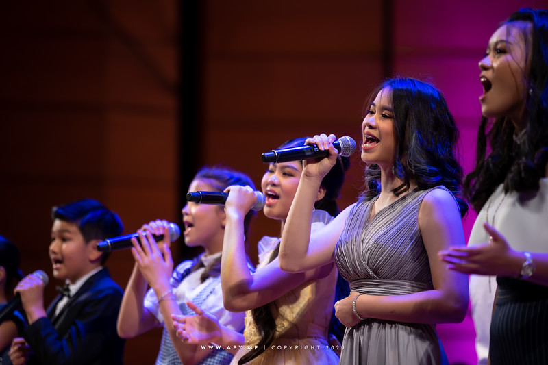 RBSO Young Talent sings Broadway