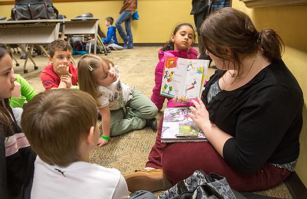 Devaney kindergarteners visit campus