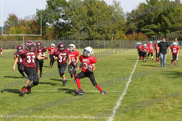 Giants vs Maroon Huskies 9-21-2014