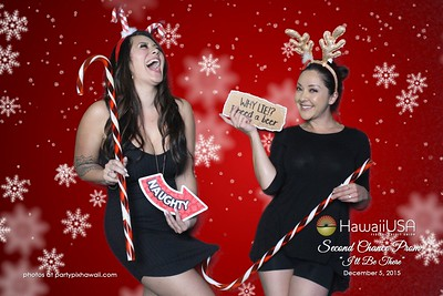 Hawaii USA FCU Holiday Party (Green Screen Party Portraits)