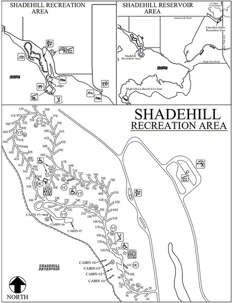 Shadehill Recreation Area (Campground Map)