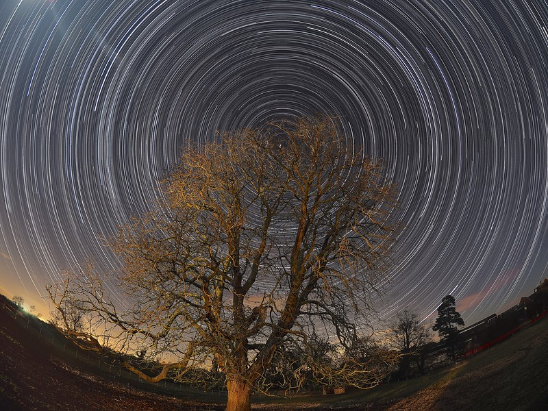 8mm Star Trail