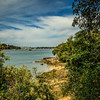 Bedlam Point, Sydney, Australia<br /> The beautiful foreshore of Bedlam Bay Parramatta River Regional Park, with the former ferry wharf in the distance.