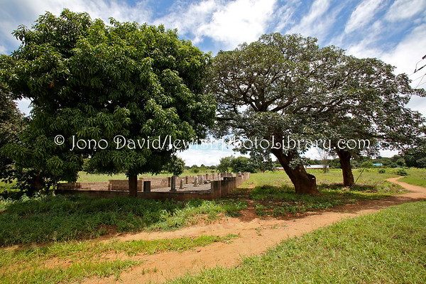 ZAMBIA, Livingstone. Jewish Cemetery (2.2013)