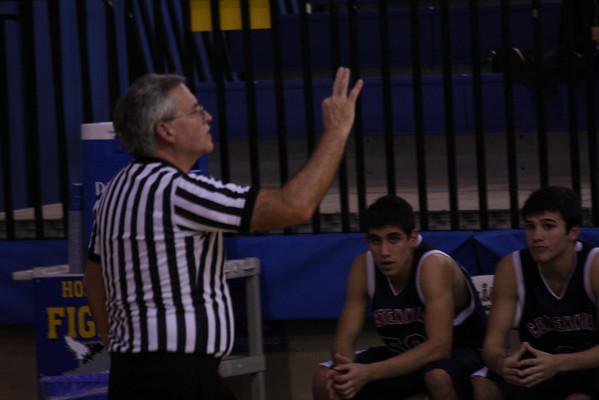 Frisco JV basketball vs. Centennial Lost 2-10-09