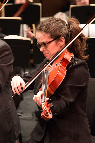 Talya Schenk -- Symphony of the Potomac at the Cultural Arts Center, Silver Spring, MD, February 2018.