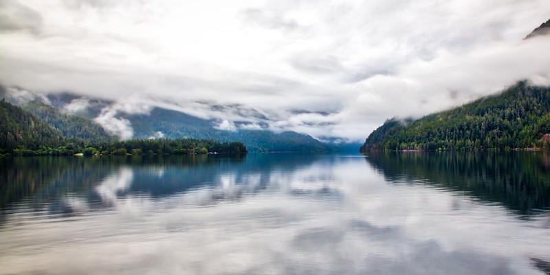Crescent Lake, Northern Wash.
