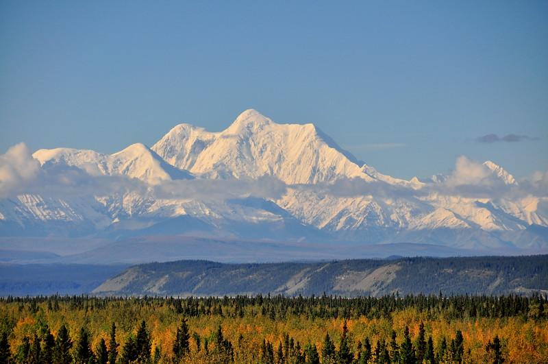 Mt Hayes from Delta Junction, Alaska