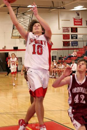 Boys JV Basketball - 1/24/2008 Orchard View