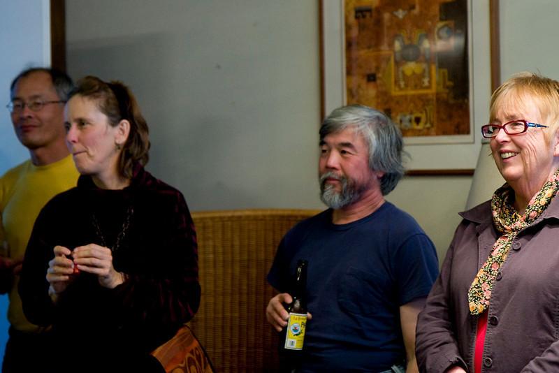 Steve, Karen, Sam, Joy - Hal's friends for > 30 years.