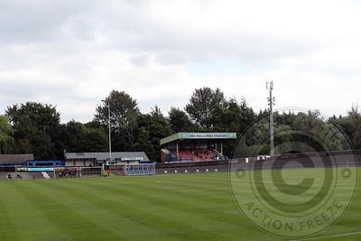 Newcastle Town v Stafford Rangers Friendly 8th Aug 2020