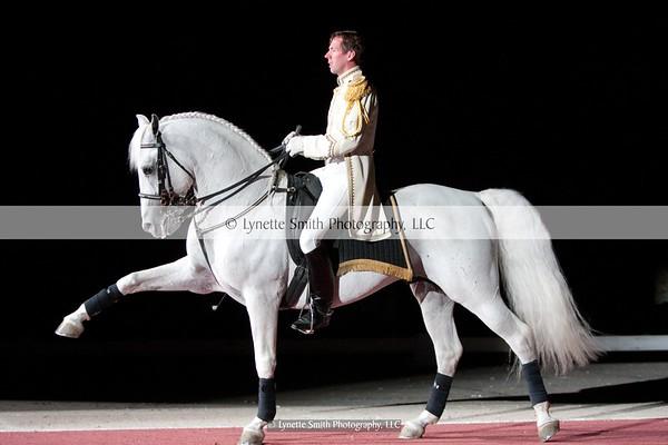 The World Famous Lipizzaner Stallions 2012
