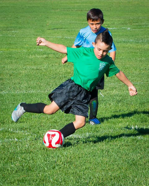 Dylan's Soccer Game 10-10-2015