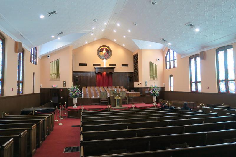 Ebenezer Baptist Church - Interior