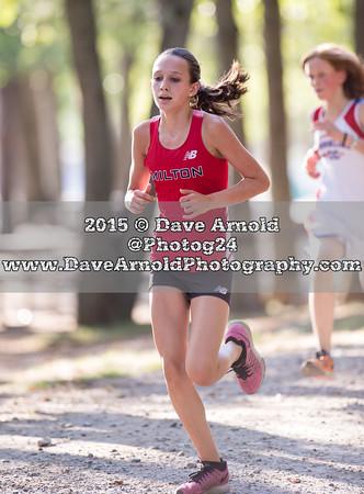 9/17/2015 - Girls JV XC - Needham, Brookline, Milton, Dedham