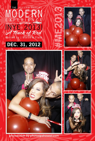 NYE 2013 at the MODERN (Luxe Stand Up Booth)