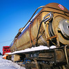 Icy train