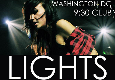 2012.11.21 | Live Show: Lights Returns To 9:30 Club For Round 2