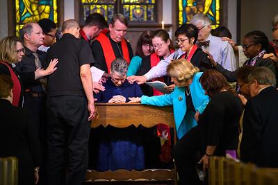 Sally Ann's Ordination