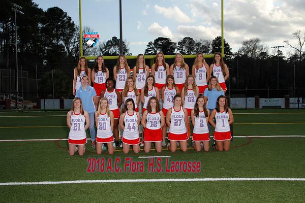 2018 Girls Lacrosse Varsity