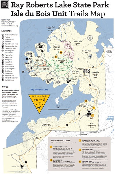 Ray Roberts Lake State Park (Isle du Bois Unit Trails)