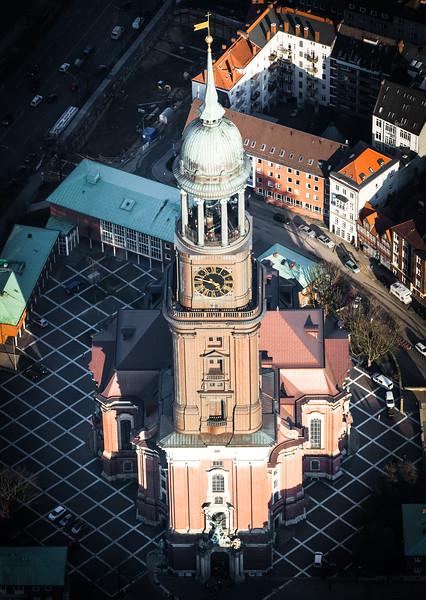 Luftbild Sankt Michaelis Kirche