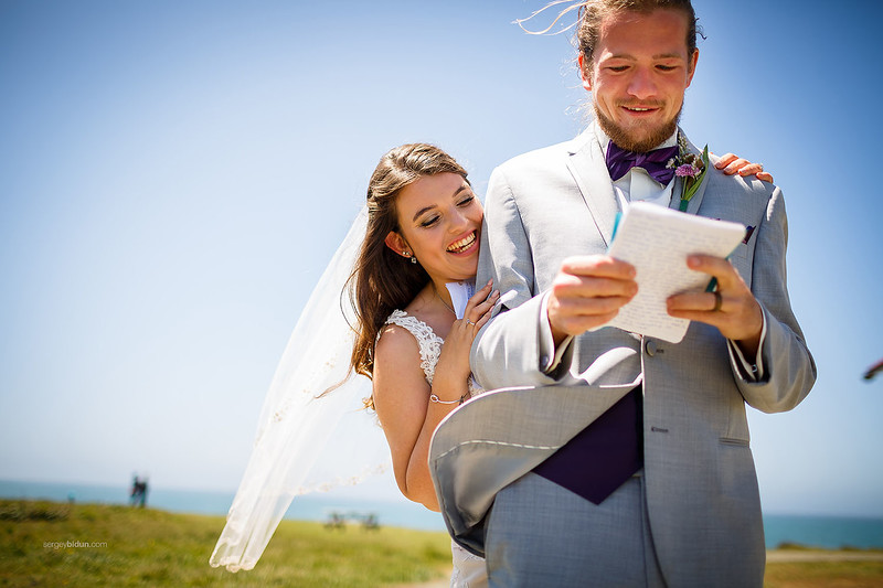 JASA & AARON WEDDING, MENDOCINO CA