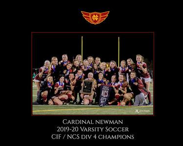 Varsity Soccer 2020 NCS Play-off
