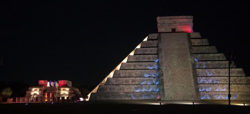 Light&Sound show in Chichen Itza