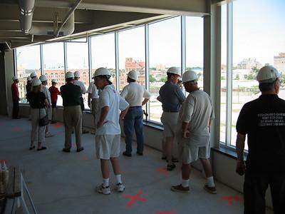 2004-07-10,16 Kern Center Construction Tour & Panorama