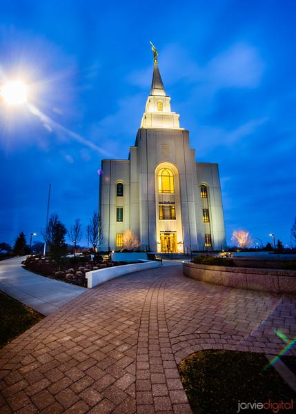 Kansas City Temple Brick walk