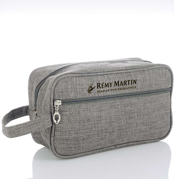 360- Grey Travel Bag with Black Logo