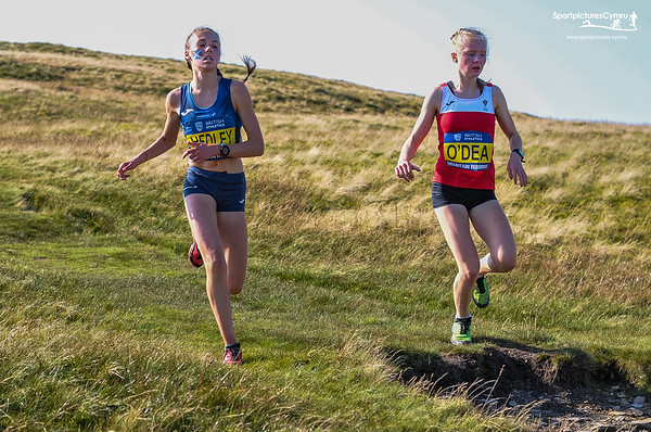 British and Irish Junior Mountain Championships - Junior Women Descent