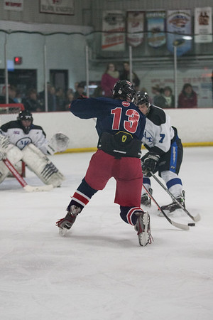 Red Land vs Manheim Twp CPIHL Hockey