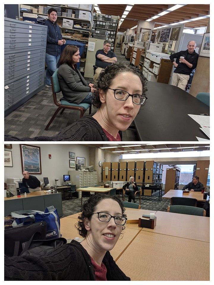 More of the now-almost-daily (and in this case multiple times a day) archives staff meetings, March 16, 2020