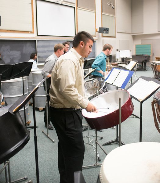 Steel Drum and Percussion Ensemble concert 2012