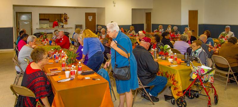 Crowley Seniors Thanksgiving Luncheon 11-20-15