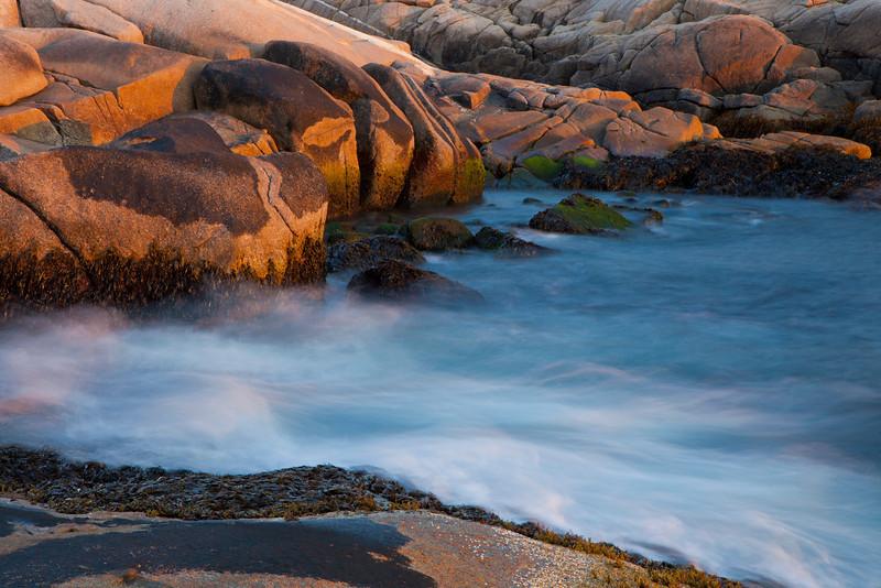 Coastal rocks, Nova Scotia