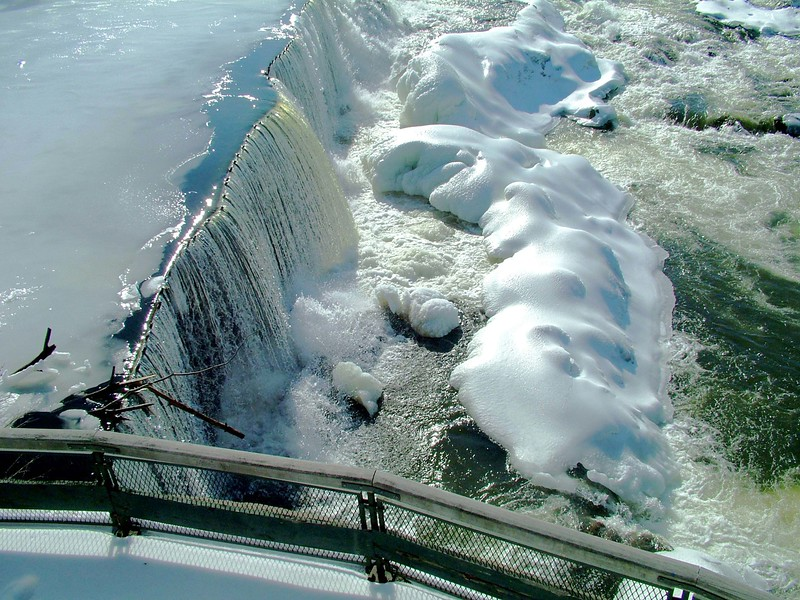 Pawtucket Falls (winter) ~ Lowell, MA