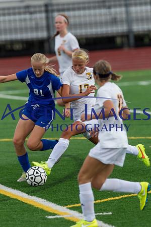 UAHS JV-B Soccer vs. Gahanna 9/12/15