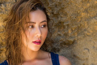 Mornington Peninsula Beach Portrait (7) - Asian Beauty in Natural Beauty with Natural Beauty (NSFW)