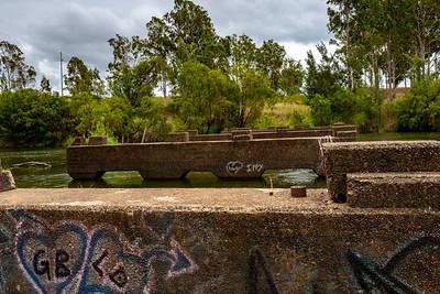 Old Brisbane Valley Highway Bridge (Ruins)